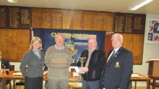 Prizes awarded at Cheltenham Bowling Club