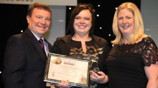 Caring Kinga is the UK's CAREGiver of the Year!