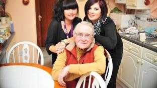 'I'm very lucky' - Bill praises dedicated carers who make life at home possible for wife Peggy
