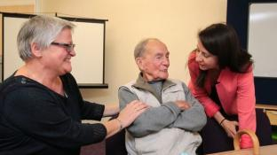 Shadow Minister for Care and Older People visits Home Instead