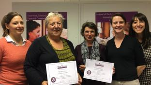 First CAREGivers complete training