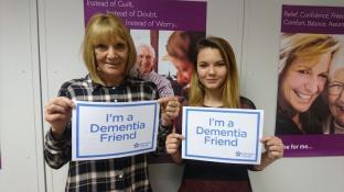Dementia Friends session included in induction package