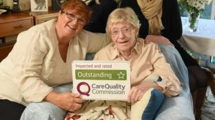 Home Instead first homecare provider in Gloucestershire to be rated Outstanding by CQC