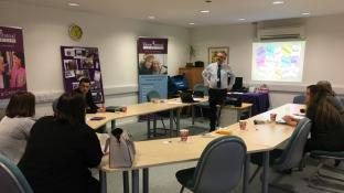 HISC offices in Wiltshire team up for training
