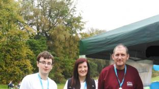 Care teams step out for Alzheimer's Society