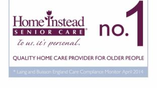 Home Instead once again awarded accolade of Highest Quality Home care Provider for Older People