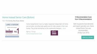 Home Instead - Highest Rated Home Care in Bolton by our Clients