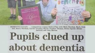 Local School becomes Dementia Friendly thanks to Home Care company