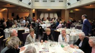 Turkey with 'Round Table' Trimmings for the Elderly in Saddleworth