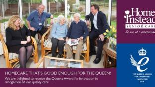 Home Instead wins Queens Award !