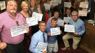 Ormskirk & West Lancashire Business Leaders and Entrepreneurs' pledge their support for The Prime Ministers Challenge on Dementia 2020