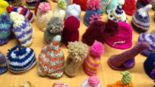Hat's amazing! Lady who inspired 1,285 hats