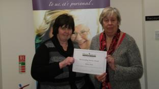 Caring Gill notches up 1 year of care!!
