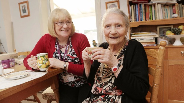 Older people encouraged to take up caring as a job