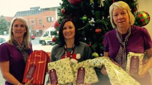 Home Instead Senior Care Retford and Gainsborough tackled Christmas hands on with a donation of nearly 100 gifts to the lonely and elderly.