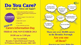Carers' Rights Information Day