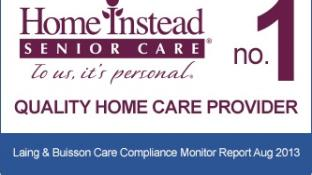 Home Instead is England's top home care provider