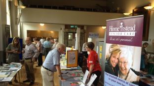 Home Instead North Oxfordshire attend Age UK Information Fair - Chipping Norton