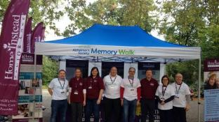 More Pictures from the Alzheimer's Society Memory Walk