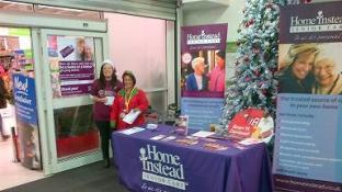 Home Instead in ASDA 8th -12th December 2014