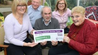 CAREGivers with 'hearts of gold' receive Outstanding praise from CQC