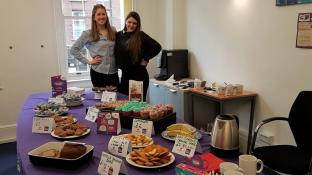 Home Instead Westminster hosted a hugely successful bake sale to raise money for Dementia UK