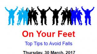 Home Instead Barnet and Age UK Present: On Your Feet