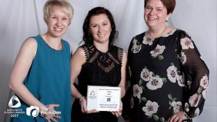 Winners of the North Notts Business Community Partnership Award