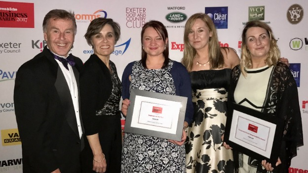 Business Awards 2017 - Employer of the Year and Corporate Social Responsiblity