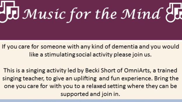 Music for the Mind - 24 May 10.15am