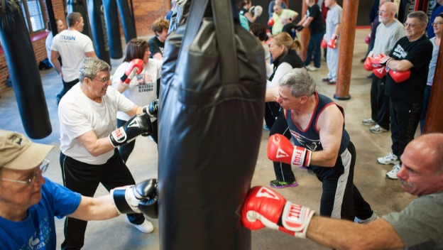 Knock Out Parkinson's One Punch At A Time