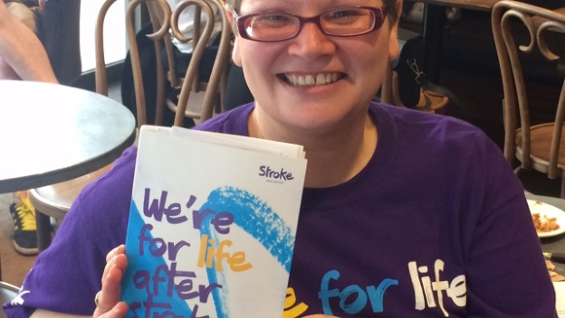 Michelle from the Stroke Assoc. visits Home Instead Wandsworth