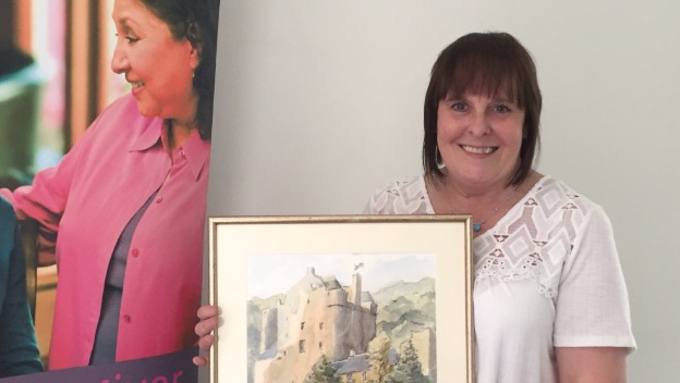 Jacqui celebrates 6 years with Home Instead