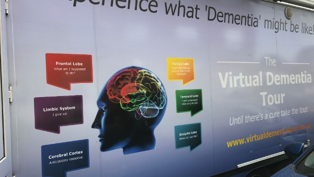 My experience on the Virtual Dementia Tour bus.