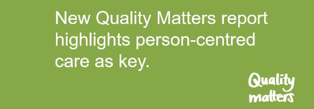 Supporting the launch of the Quality Matters report
