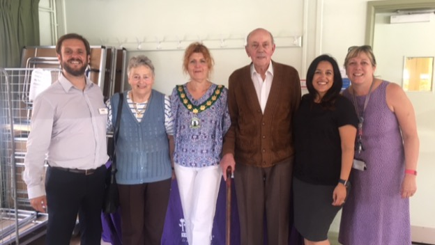 Visit from the Mayor of Polegate!