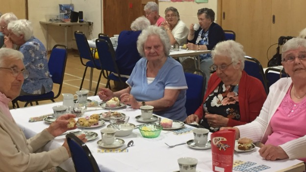 Caring Company Supports Afternoon Tea Party in Thirsk