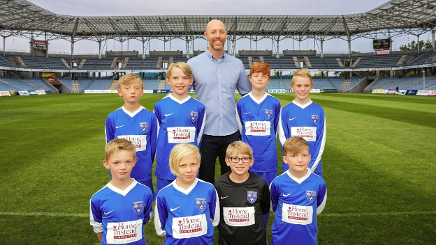 Senior Care Company Sponsors Uppermill Youth Football Team
