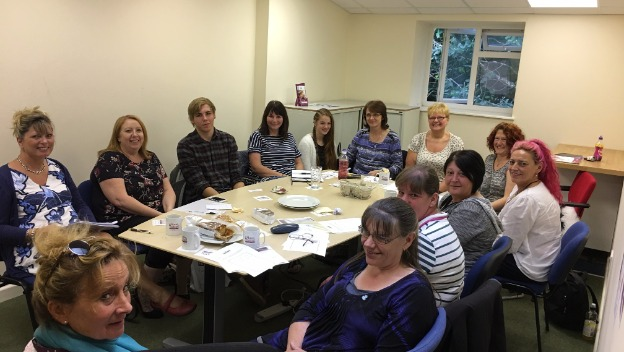 Team meeting & Dementia Friends training