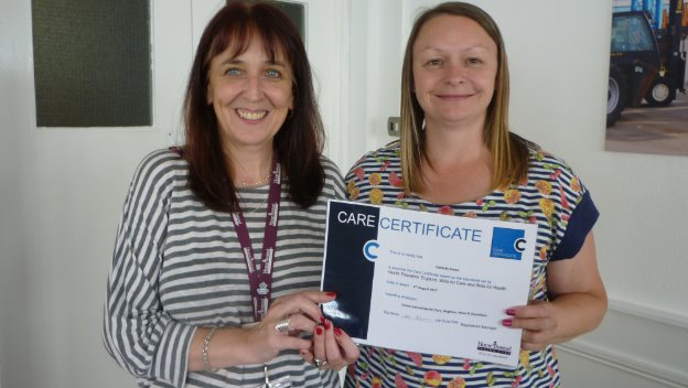 Congratulations on your Care Certificate