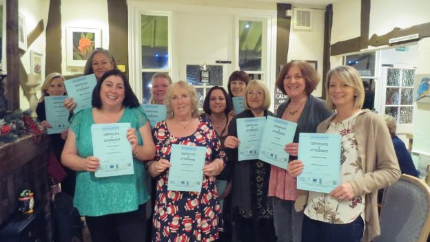 Dementia Training Certificates Award