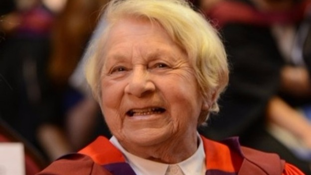 An 86 year old Grandmother graduates with a Doctorate