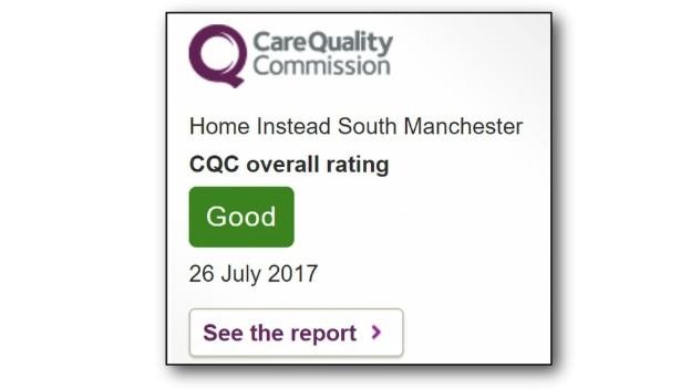 C.Q.C. Awards Us a 'GOOD' Rating