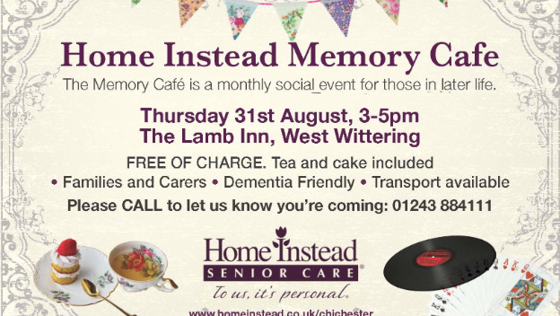 Singer Sarah dazzles Home Instead Memory Cafe - August