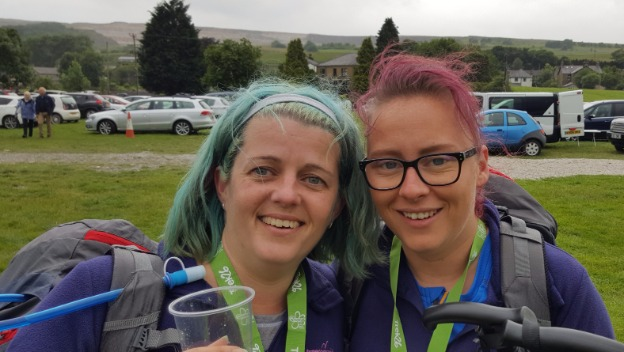 Kathryn does 3 Peaks Challenge for Alzheimers!