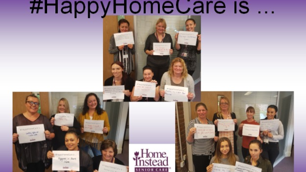 Happy CAREGivers #HappyHomeCare