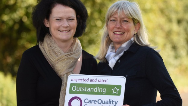 CQC 'Outstanding' - sharing our experience!