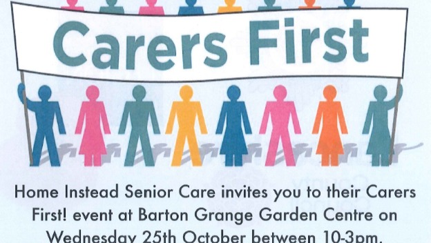 Come along to our event at Barton Grange Garden Centre, Weds 25th October 2017, 10am-3pm.  Everyone welcome.