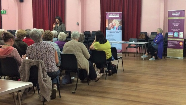 SCAM Awareness talk at the Women\'s Institute, Glenfield.