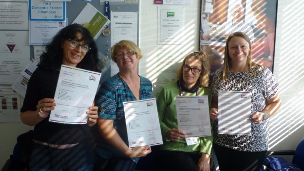 More of our CAREGivers complete their Dementia training